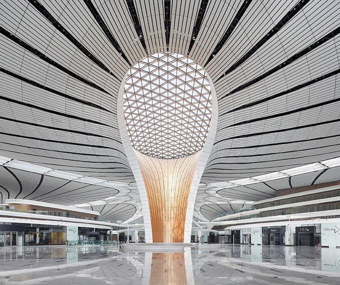 Conocido como Aeropuerto Internacional Beijing Daxing