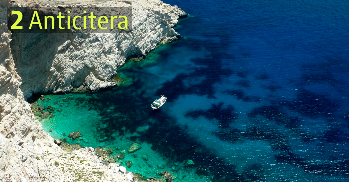 isla de Anticitera, Grecia