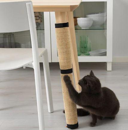 Una forma práctica de proteger sofás y mesas