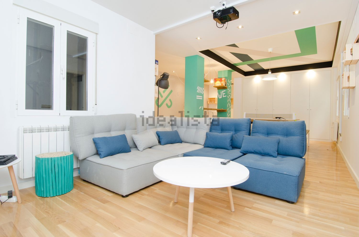 Espacio de 'coliving' de Urban Campus en Madrid