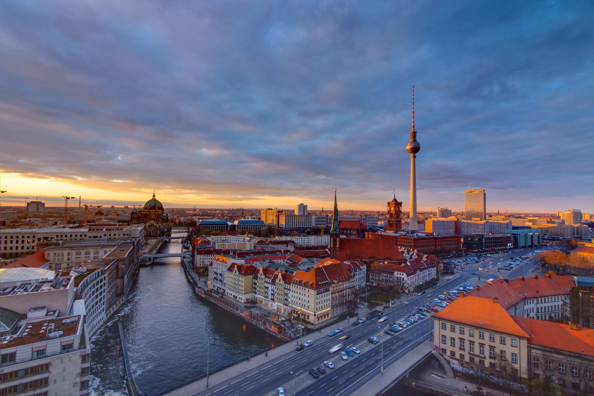 Panorámica de la ciudad de Berlín / Gtres