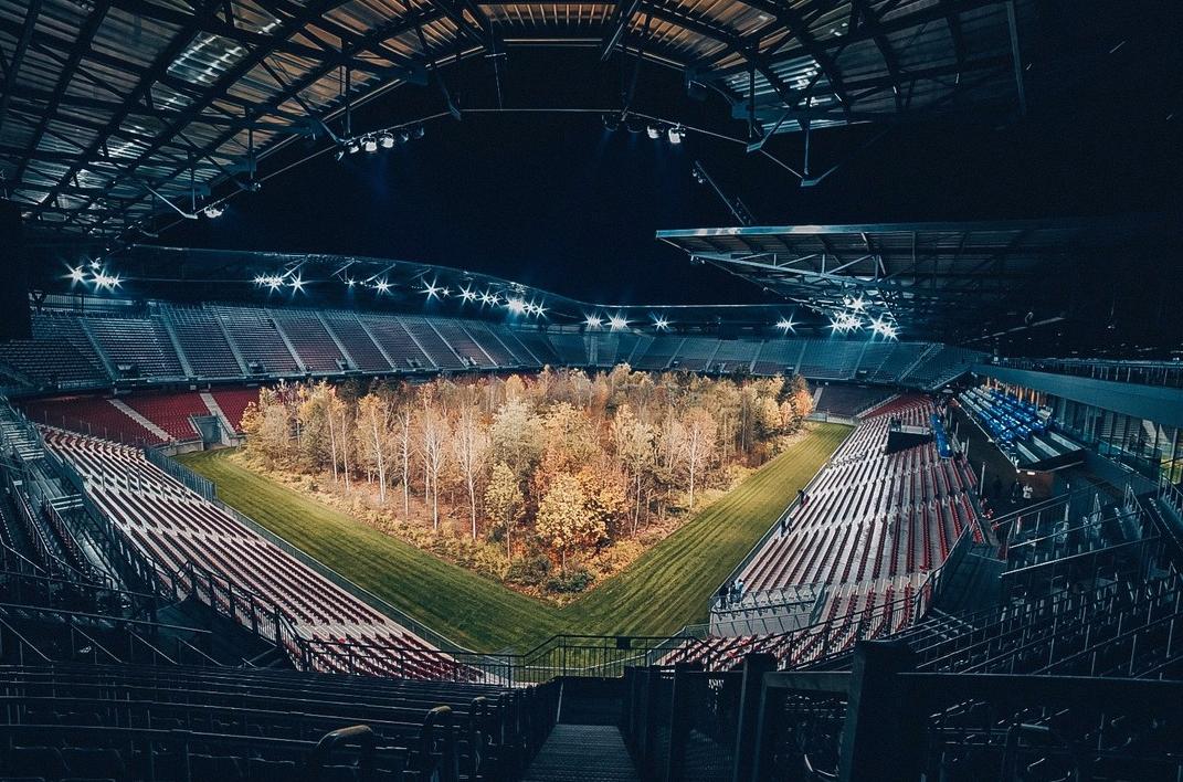 El estadio tiene capacidad para 30.000 espectadores