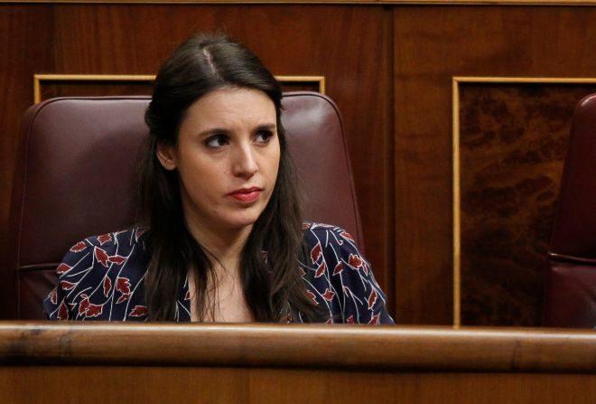 Irene Montero, portavoz en el Congreso de los Diputados de Unidas Podemos.  / Gtres