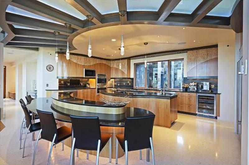 Una cocina abierta