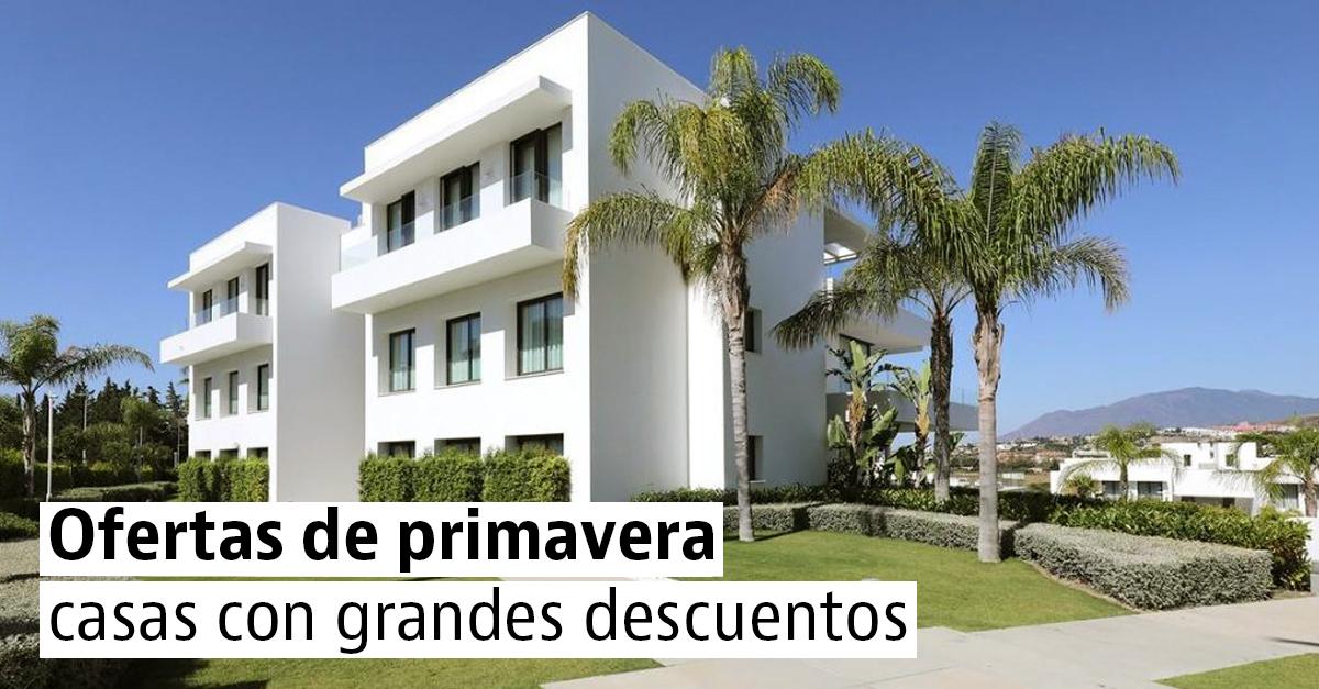 Casas con grandes descuentos