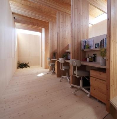 Una pequeña oficina en casa