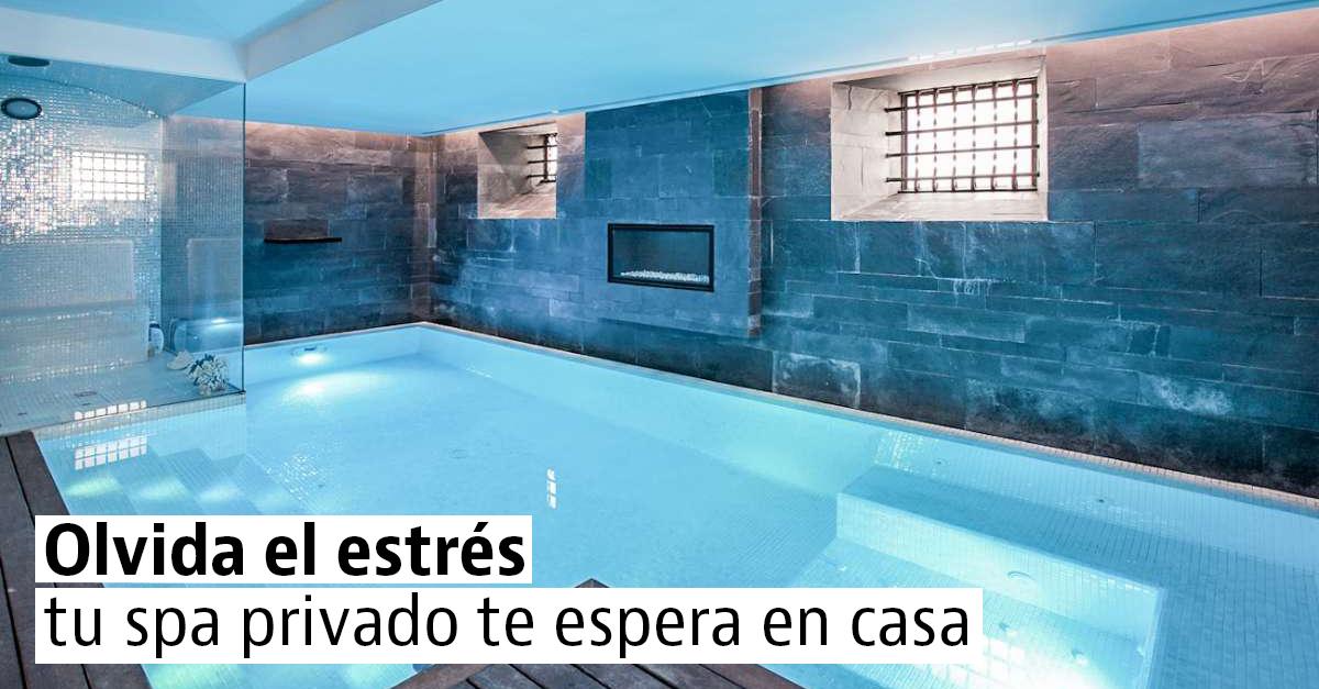 Casas con piscina climatizada