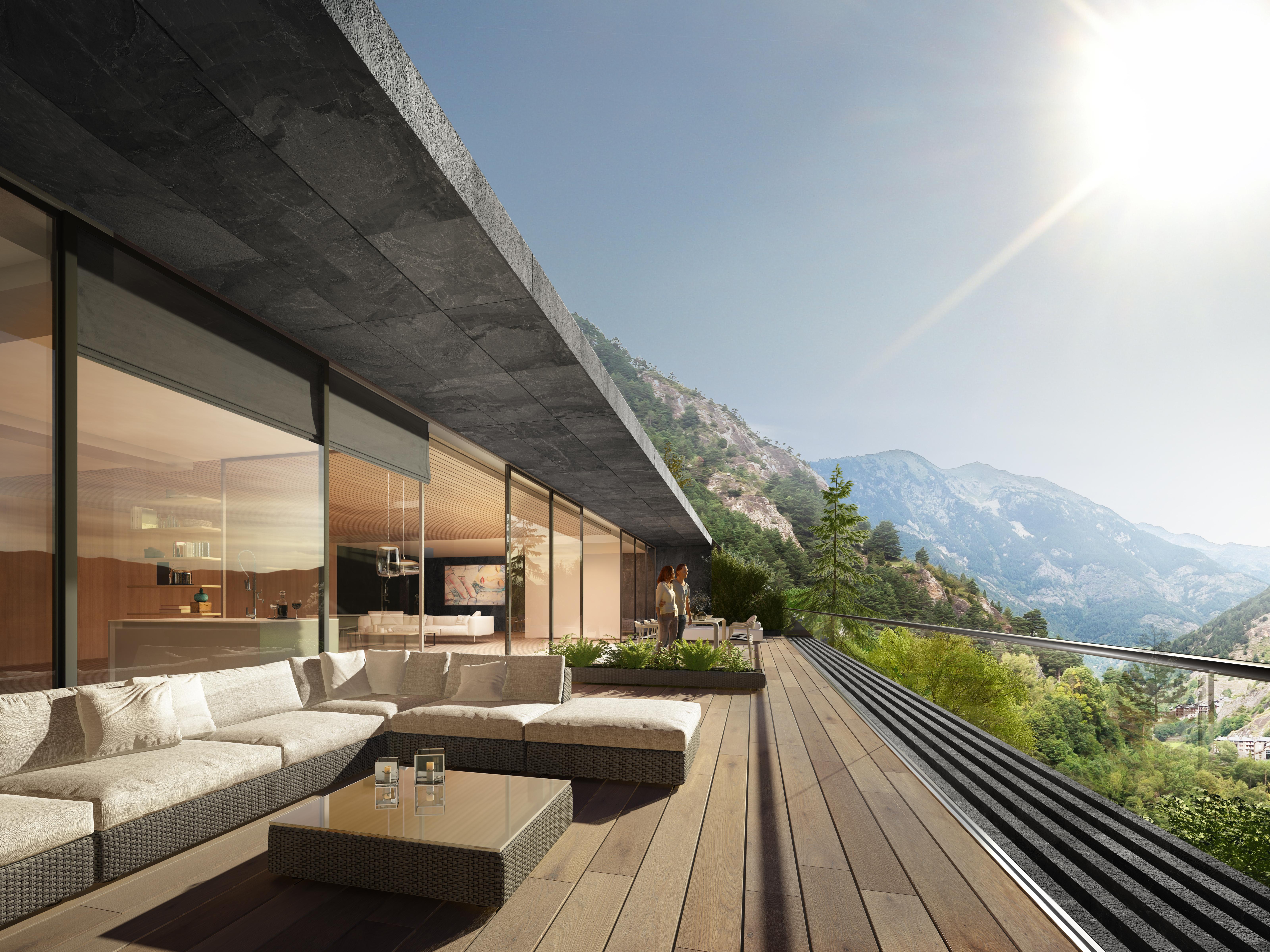 Todas las viviendas tienen terraza exterior