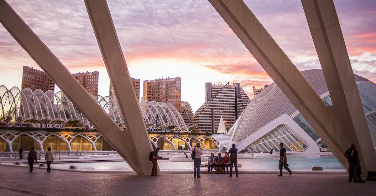 la Ciudad de las Artes y de las Ciencias en Valencia / Gtres