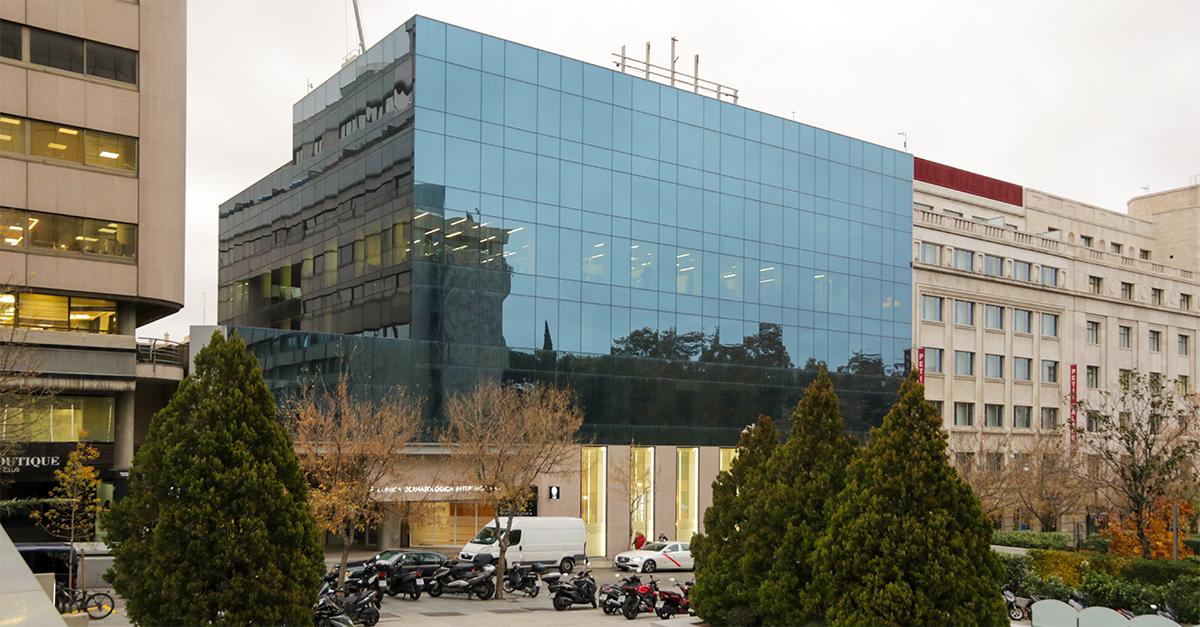 Sede de Caja Duero en Madrid