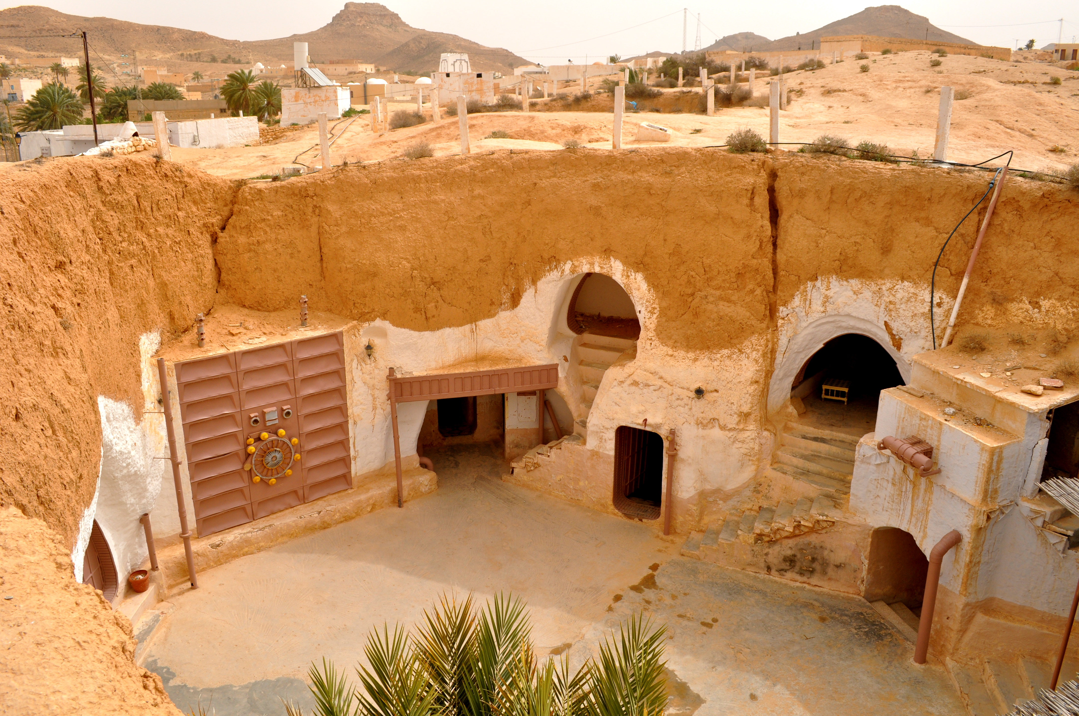 Sidi el Driss Hotel, Matmata, Túnez