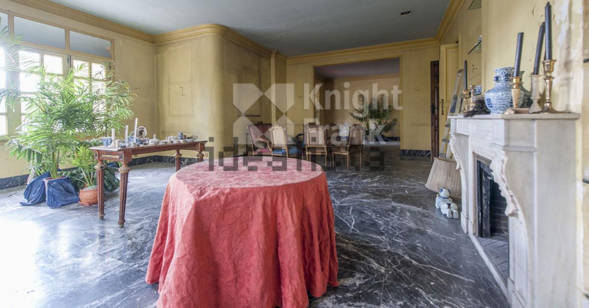 La casa cuenta con 600 m2