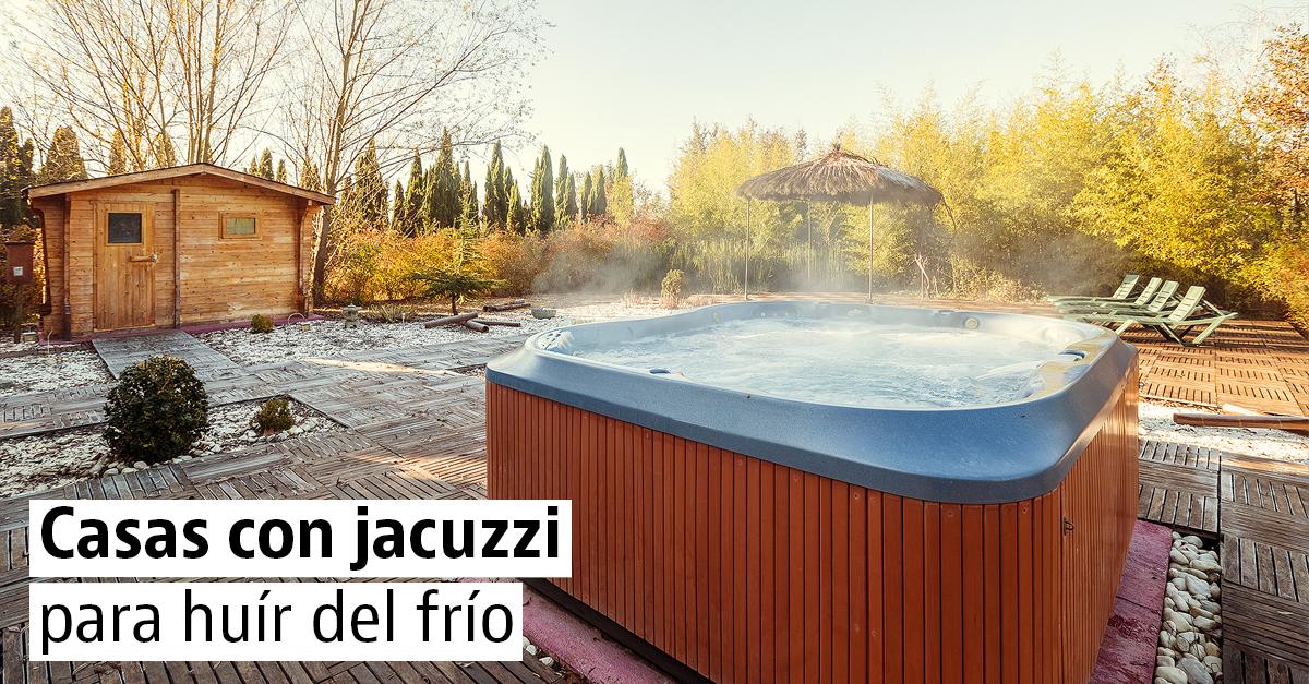 10 casas rurales con jacuzzi para reírte del frío