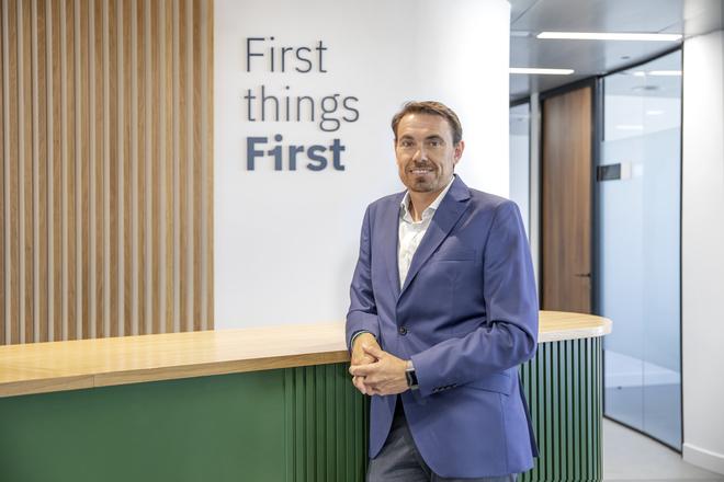 Óscar García, CEO de la compañía.  / First Worplaces