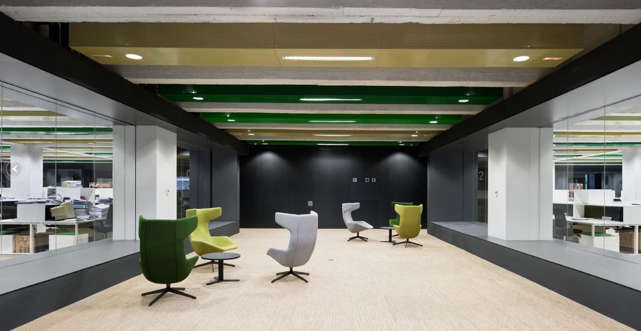 Interior de la sede de Bilbao / IDOM