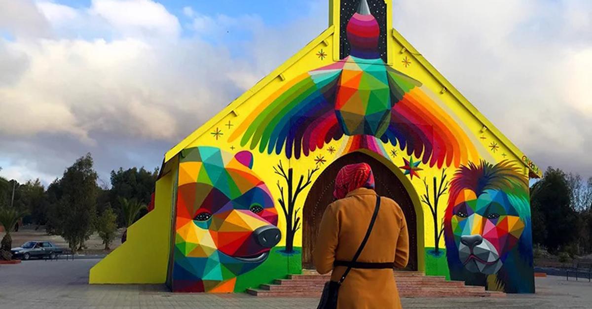 Una iglesia abandonada en Marruecos