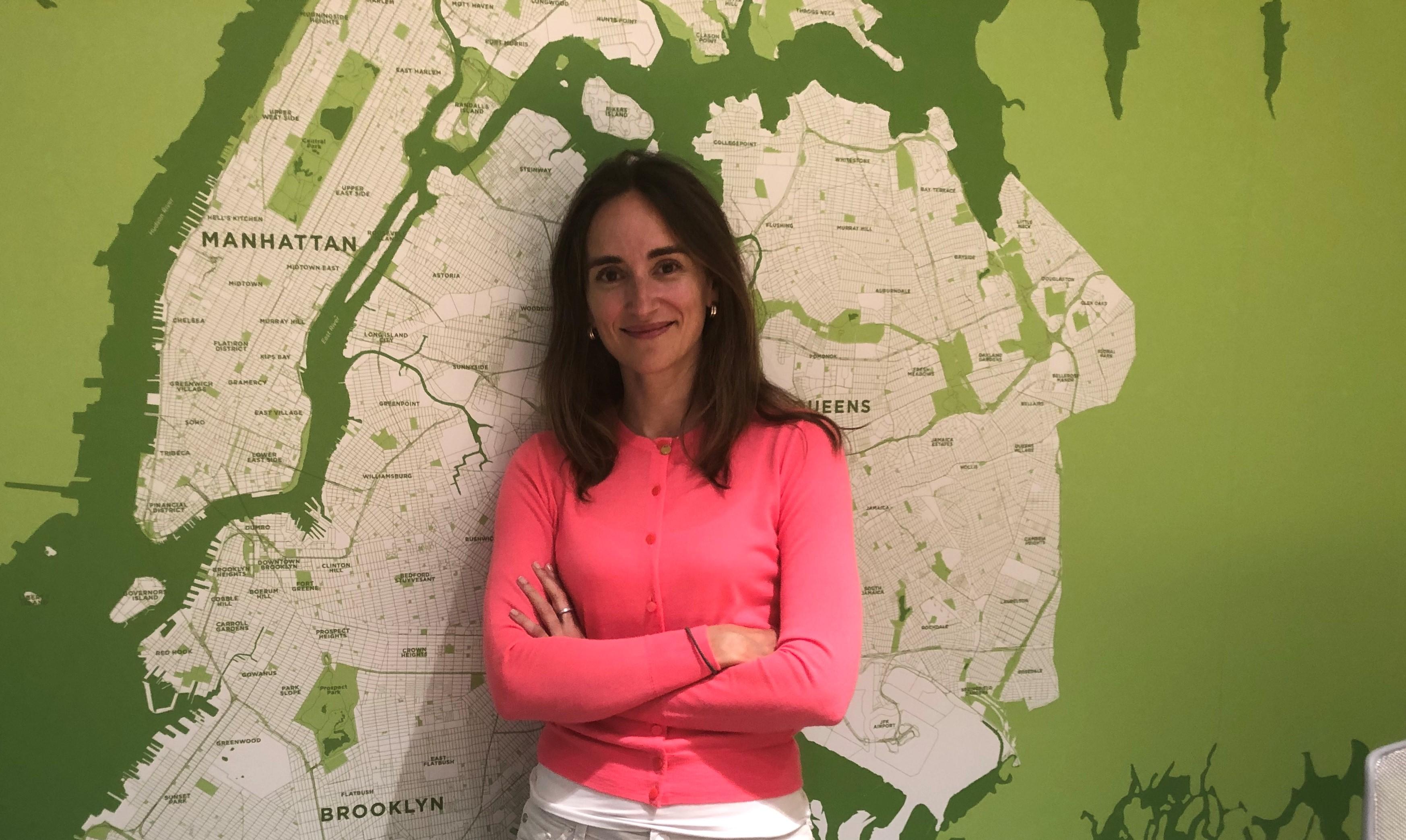 Ana Ariño, vicepresidenta ejecutiva en el Ayuntamiento de Nueva York