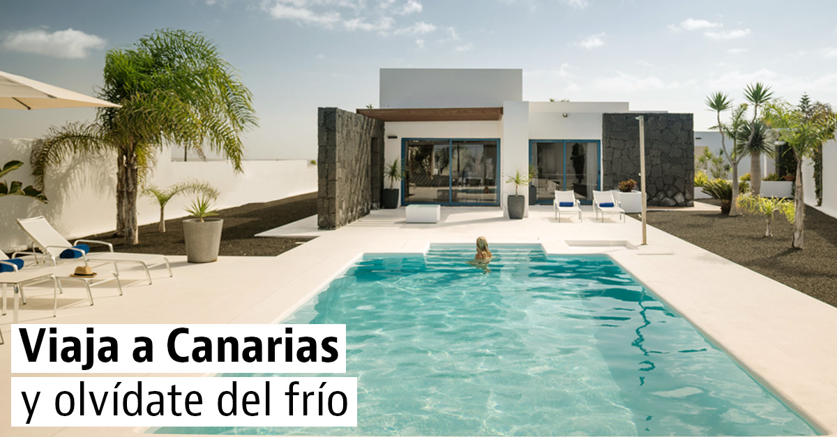 15 casas en las Islas Canarias para huir del frío invernal