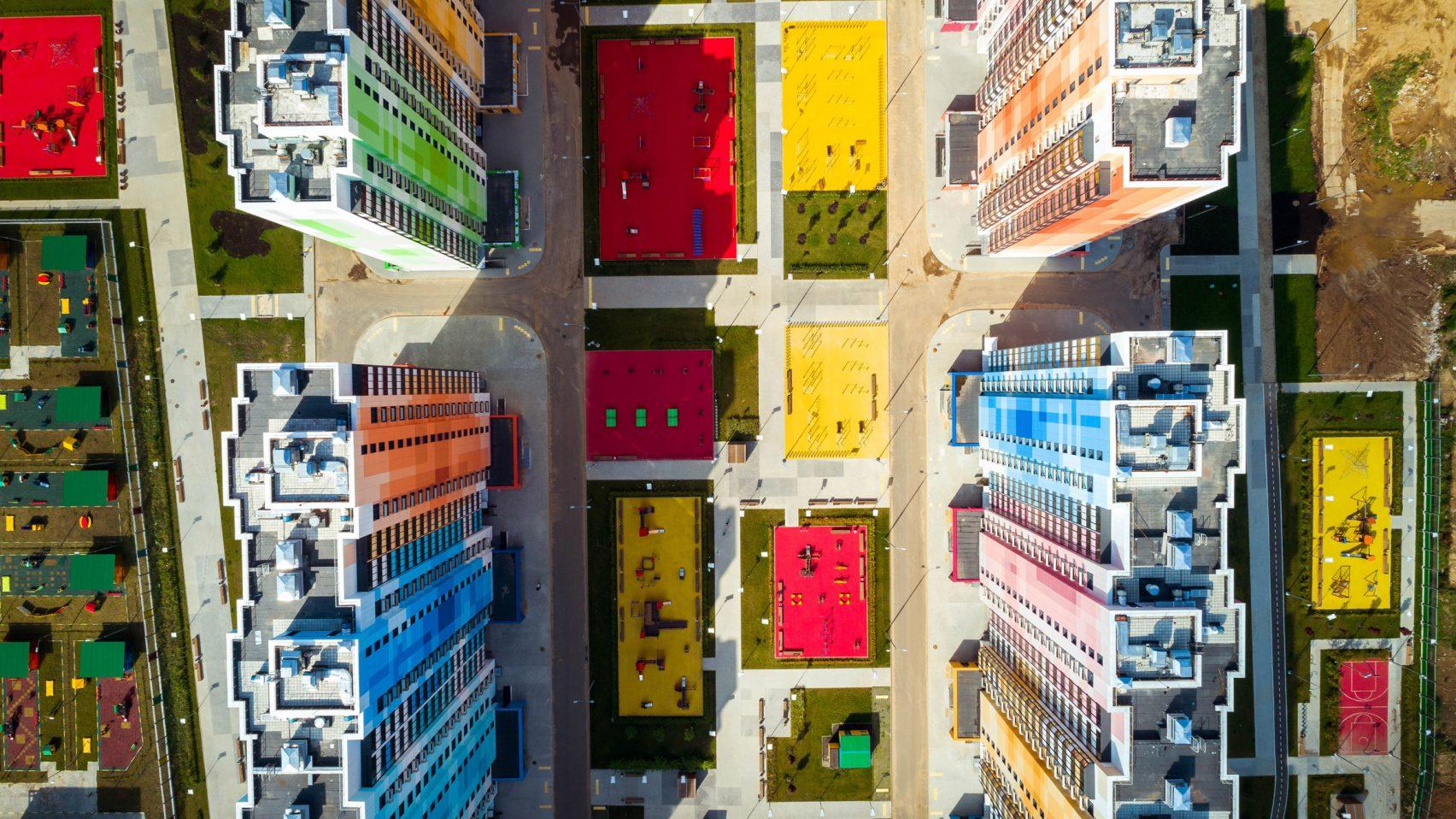 Formado por 47 edificios