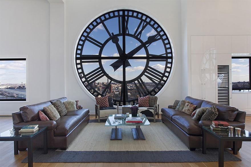 Reloj a la vista