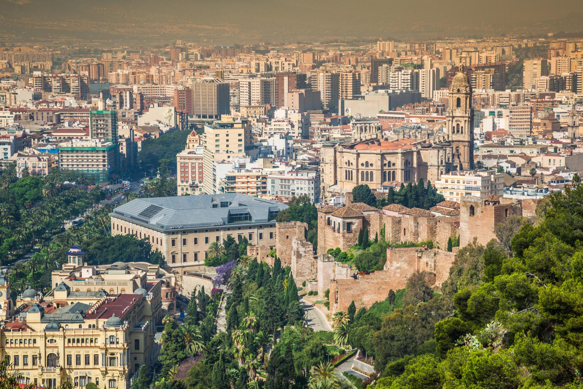 Vista panorámica de la ciudad de Málaga / Gtres