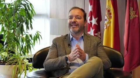 Mariano Fuentes, responsable del Área de Urbanismo del Ayuntamiento de Madrid.