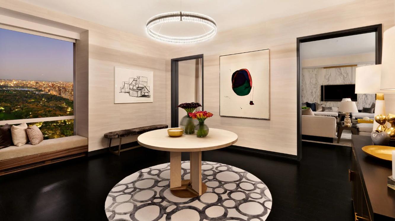 La suite incluye cocina, comedor, zona de estar...