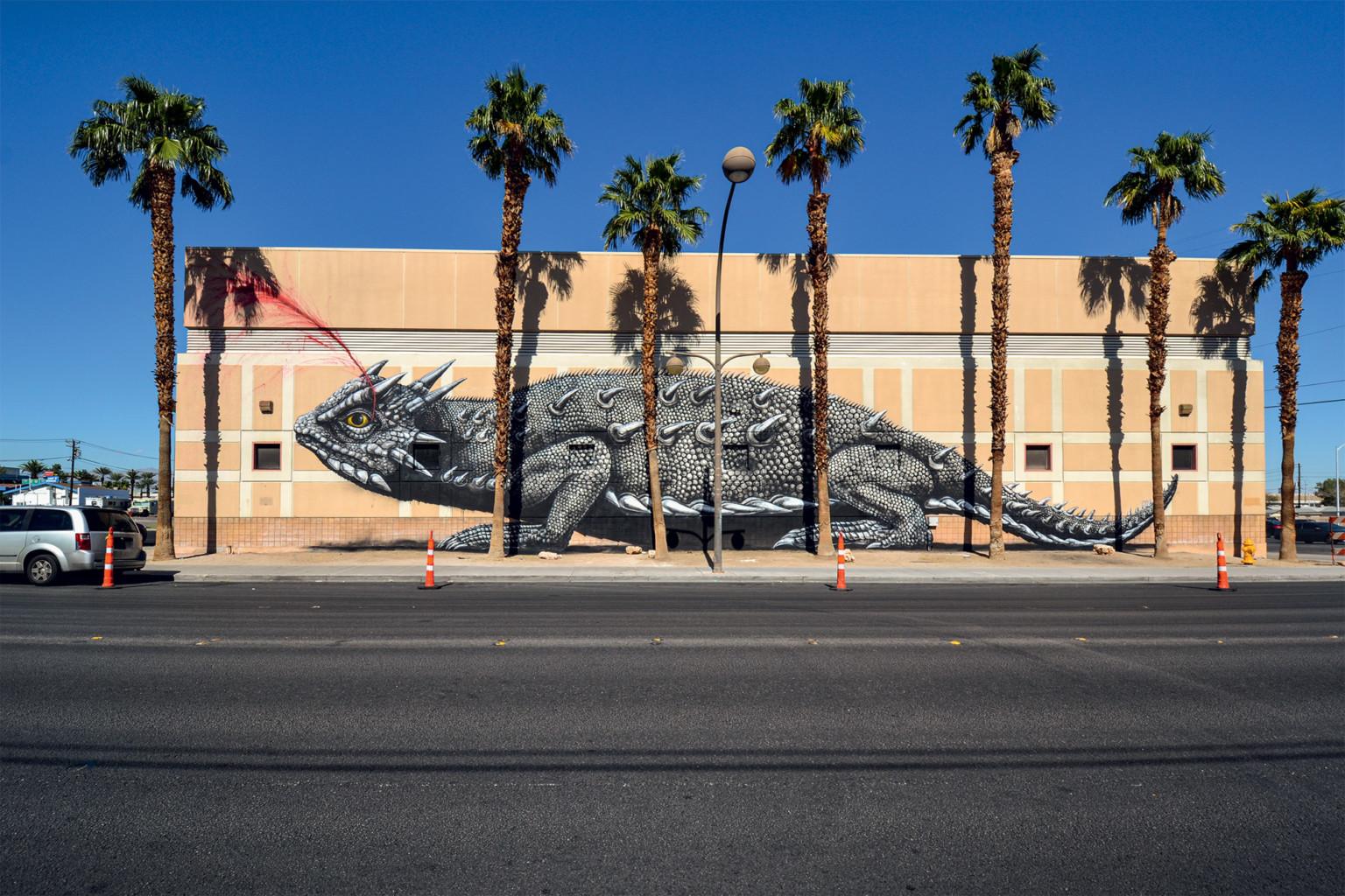 Lagarto cornudo, Las Vegas (EEUU) / © ROA