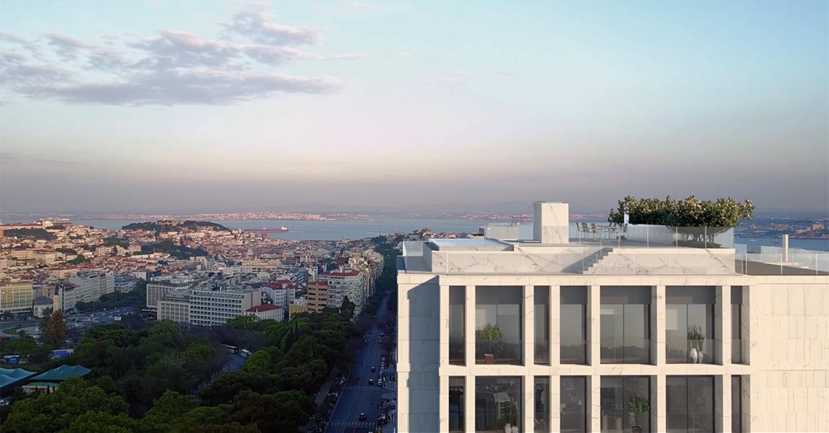 El edificio 'Castilho 203' es una construcción ultra 'premium',