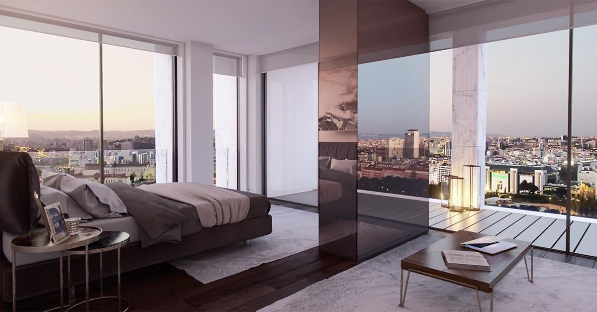 El lujoso apartamento de CR7 cuenta con 287 m2