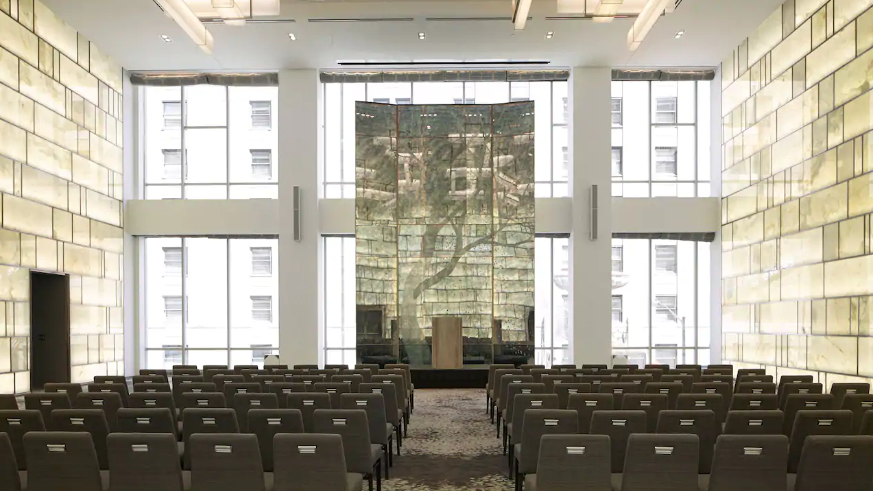 Una gran sala para eventos