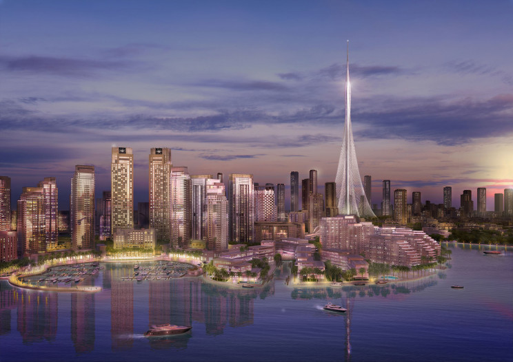Dubai Creek Tower / Calatrava.com
