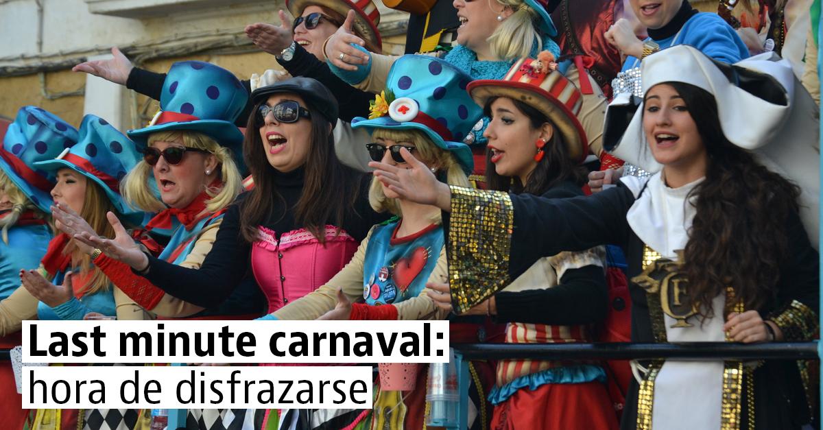 Alojamiento de última hora para disfrutar de los mejores carnavales de España