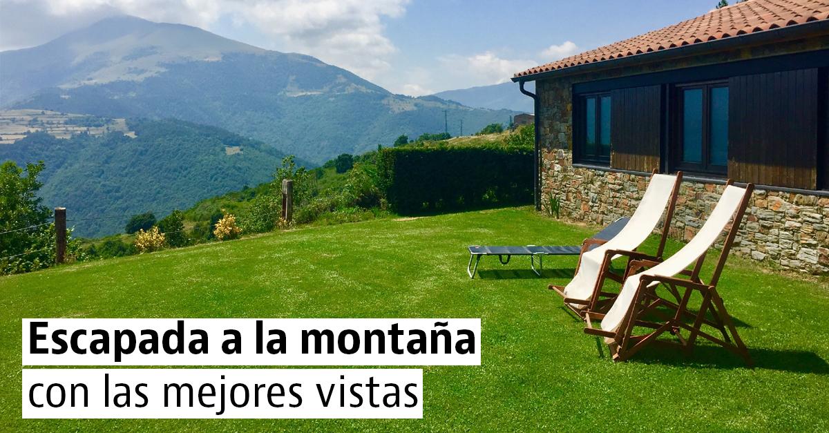 15 casas rústicas para disfrutar de la montaña