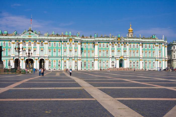Museo Hermitage en San Petersburgo / Gtres