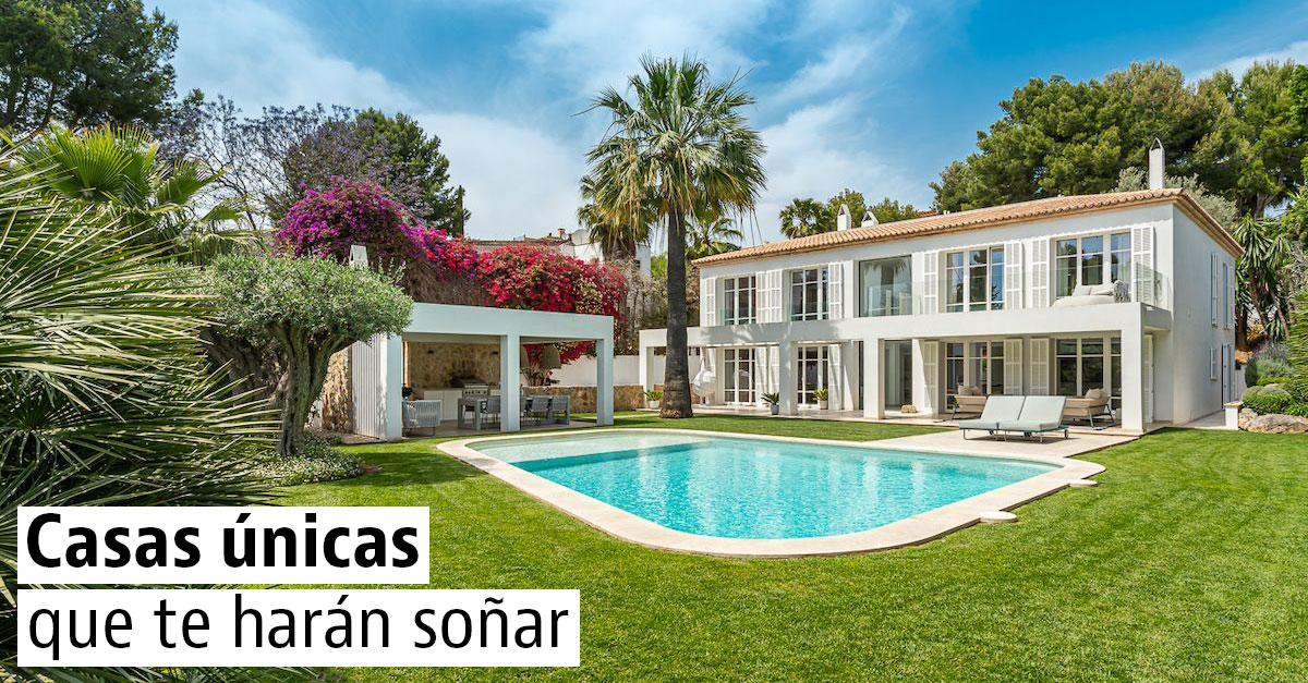 Viviendas únicas en venta en España