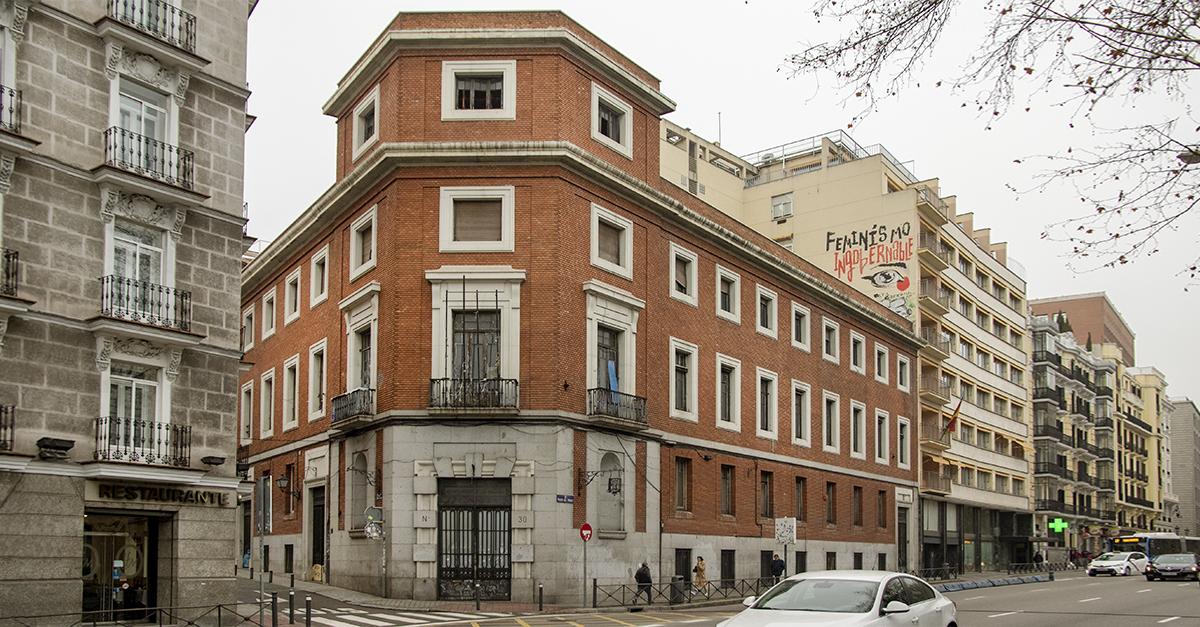 La antigua sede de la UNED en Paseo del Prado, 30