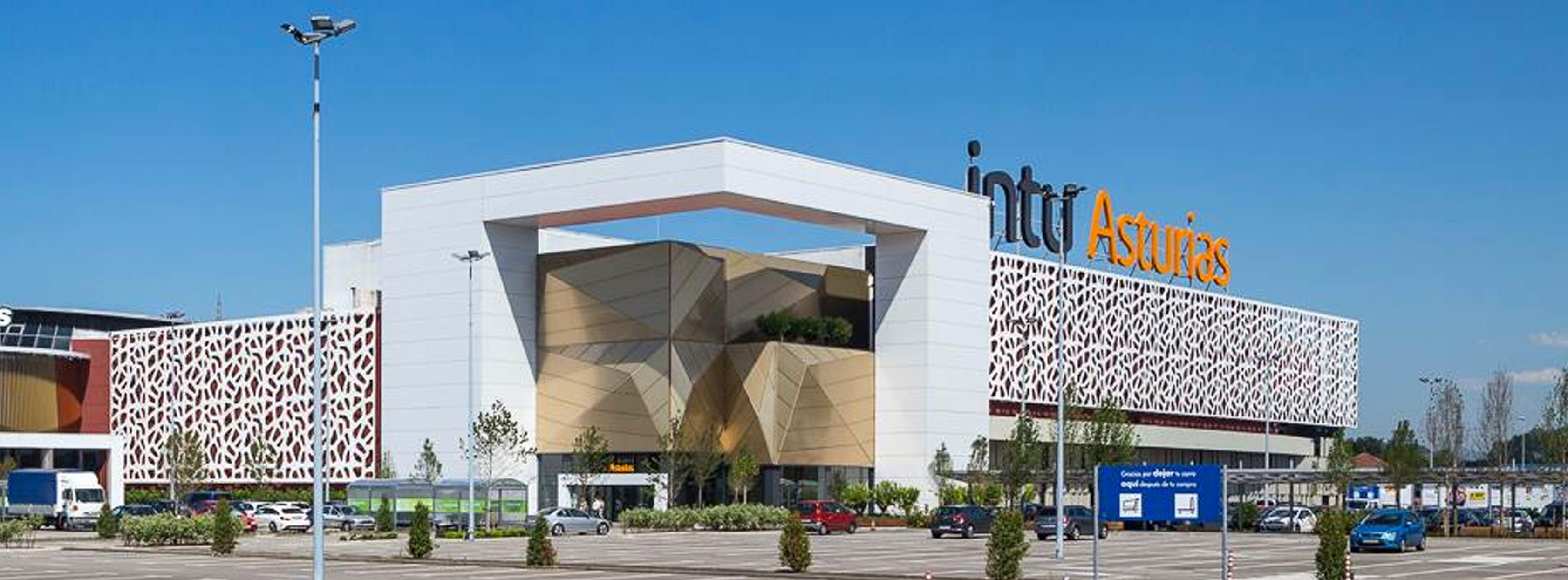 Centro comercial Intu Asturas, vendido hace tan sólo unas semanas.  / Intu Asturias