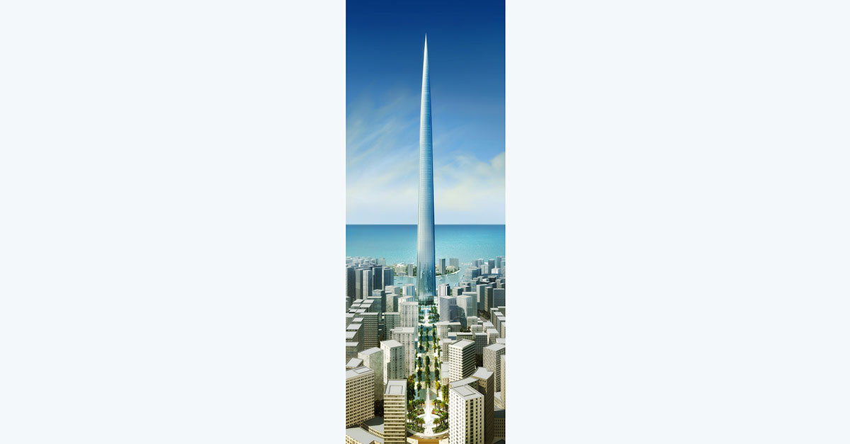 Diseño del Jeddah Tower / Flickr/Creative commons