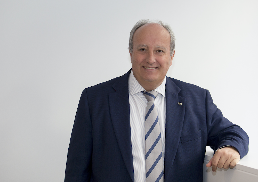 Enrique Vendrell, presidente de los Administradores de Fincas de Barcelona-Lleida