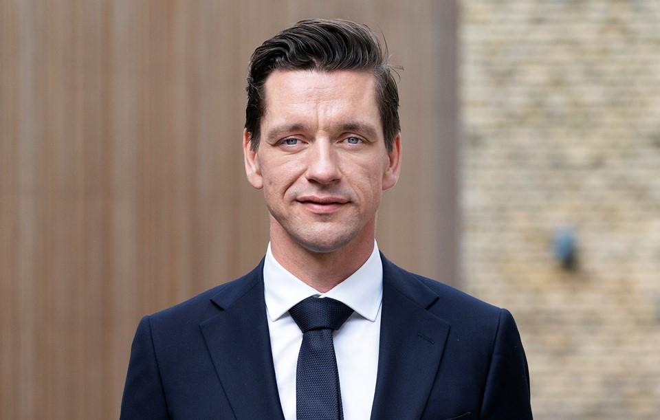 El ministro de Transporte y Vivienda danés, Kaare Dybvad