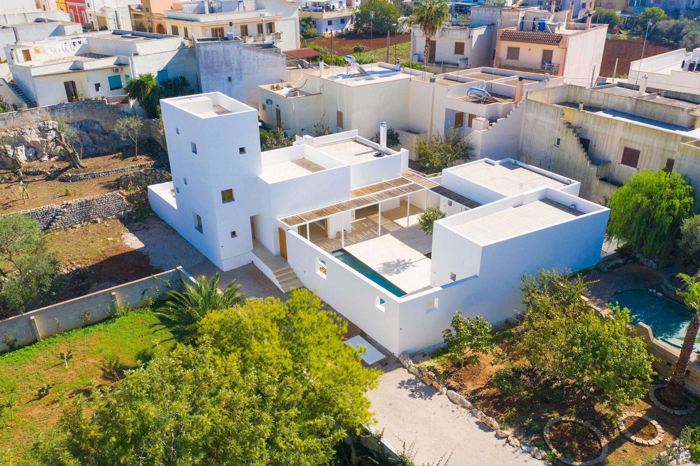 Una casa con aires mediterráneos