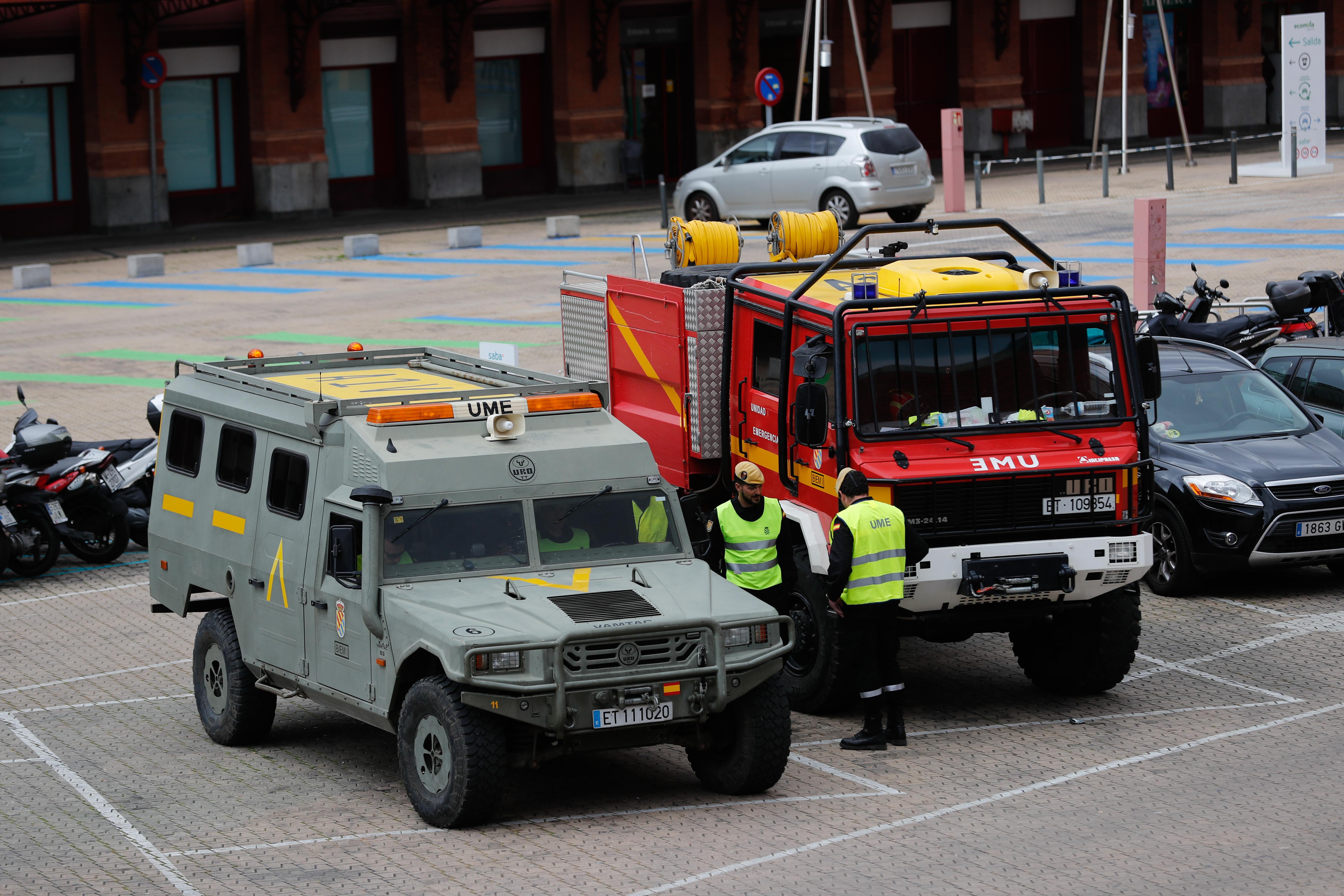 Miembros del Ejército desplegados en Madrid / Gtres