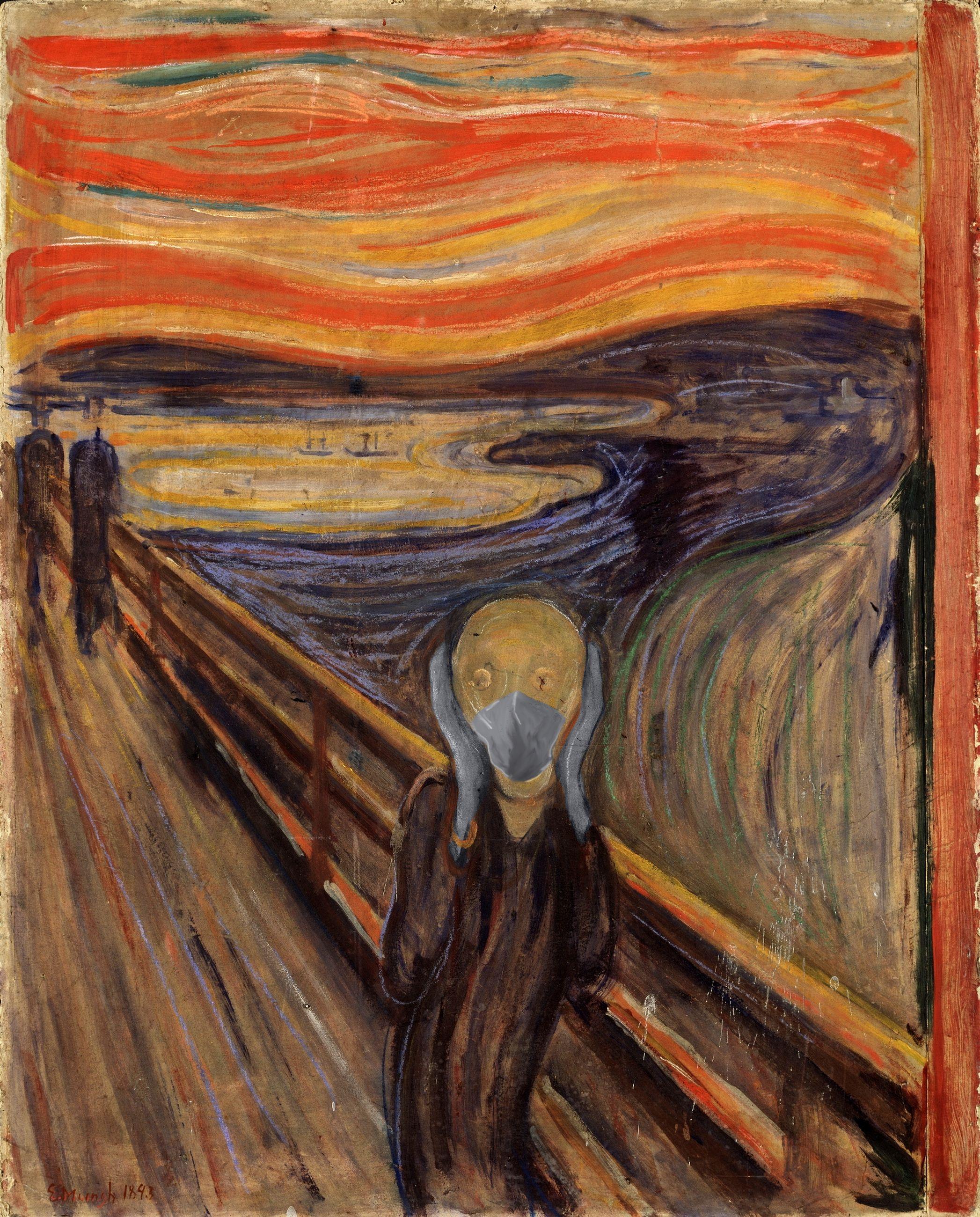 El Grito / Edvard Munch/POA Estudio