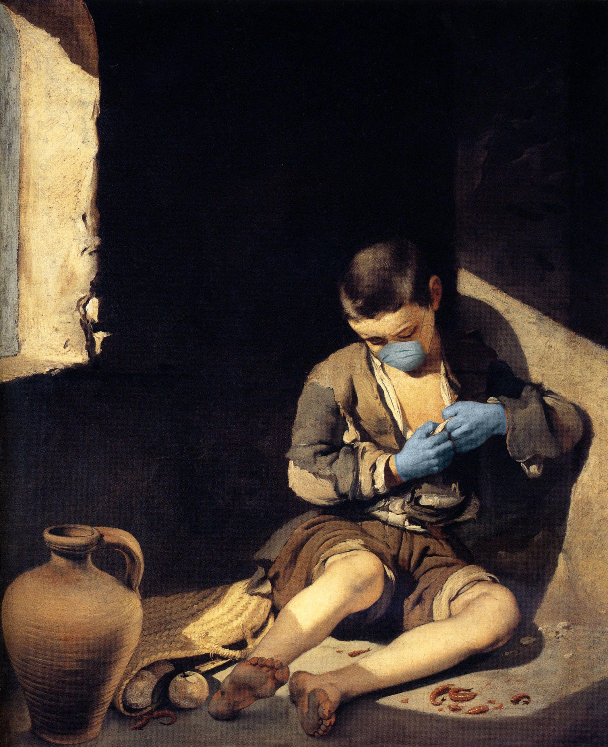 El Joven Mendigo / Bartolomé Esteban Murillo/POA Estudio