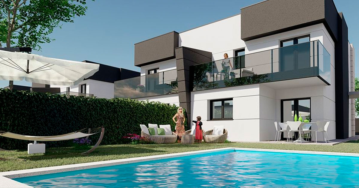 Obra nueva con terraza