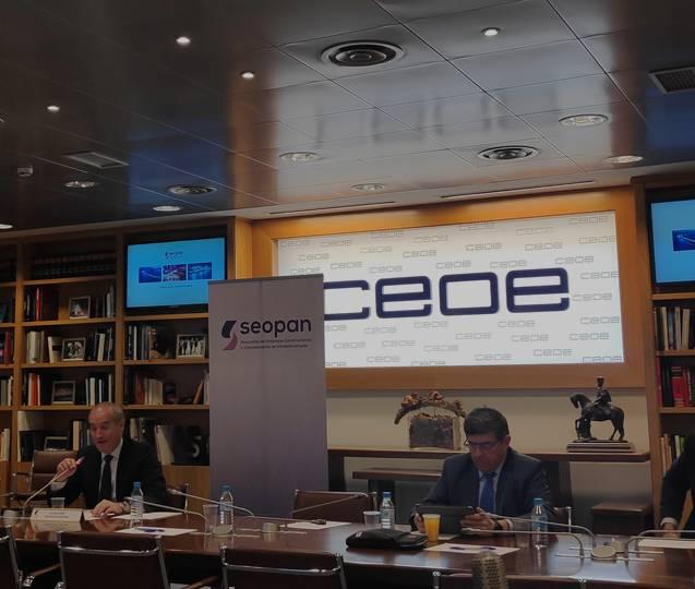 Presentación del informe de Seopan.