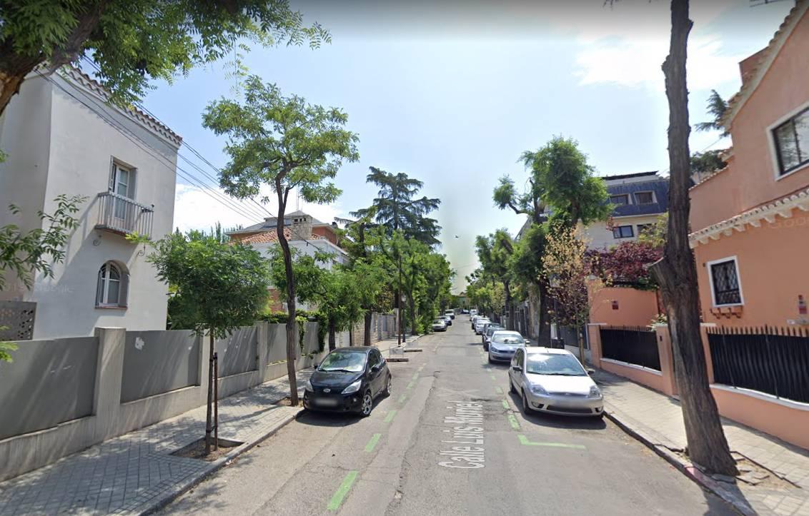 Calle Muriel, ubicada en El Viso. / Google Maps.