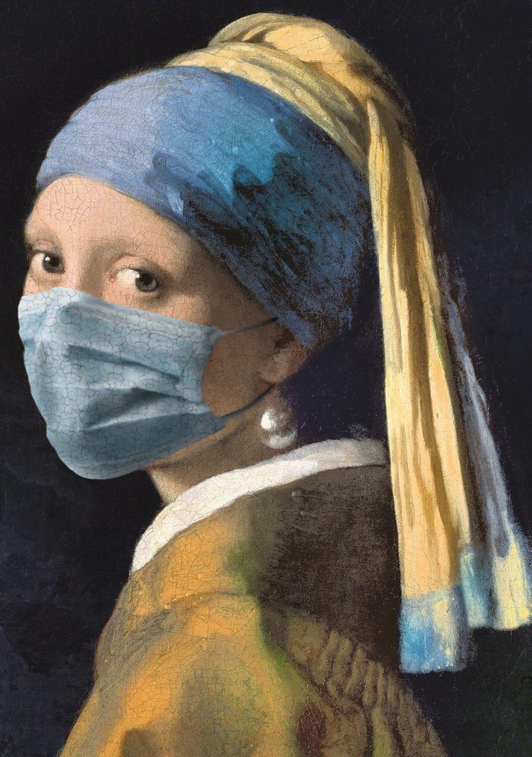 La Joven de la Perla / Johannes Vermeer/POA Estudio