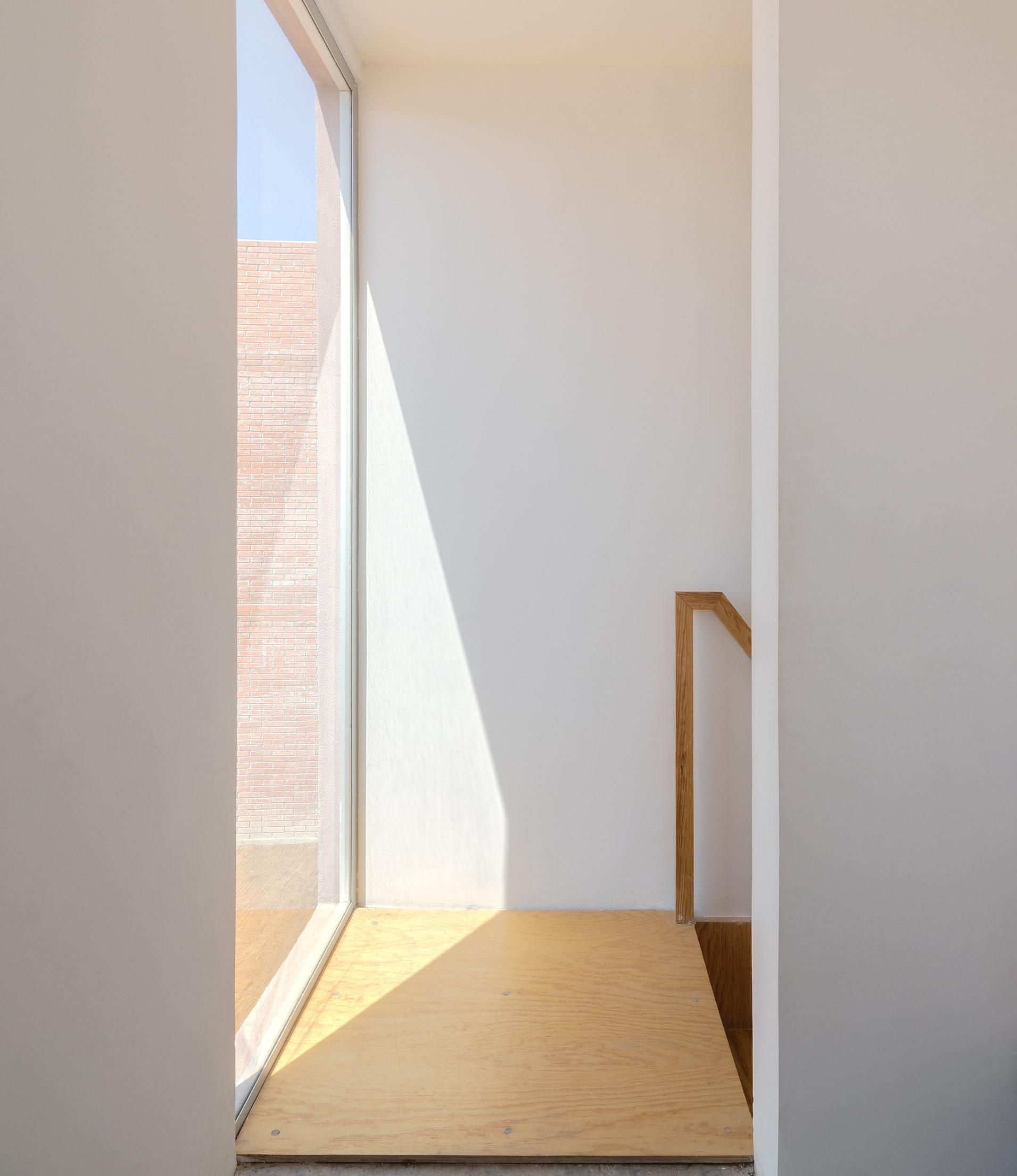 Una gran ventana para que entre luz natural